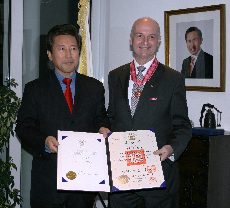 Empfang Im Generalkonsulat Der Republik Korea